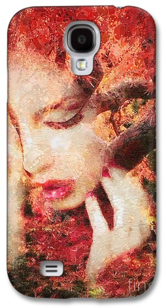 Sadness Paintings Galaxy S4 Cases - Redemption Galaxy S4 Case by Mo T