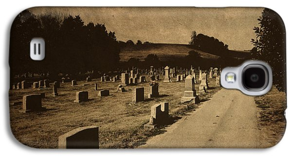Graveyard Galaxy S4 Cases - Redemption Road Galaxy S4 Case by Amy Tyler