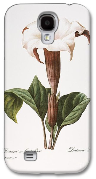 1833 Galaxy S4 Cases - Redoute: Datura, 1833 Galaxy S4 Case by Granger