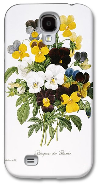 1833 Galaxy S4 Cases - Redoute: Pansy, 1833 Galaxy S4 Case by Granger