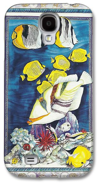 Reef Triggerfish Galaxy S4 Case by Cynthia Conklin