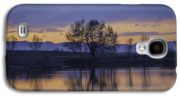 Fort Collins Galaxy S4 Cases - Reflecting Tree Galaxy S4 Case by Trish Kusal