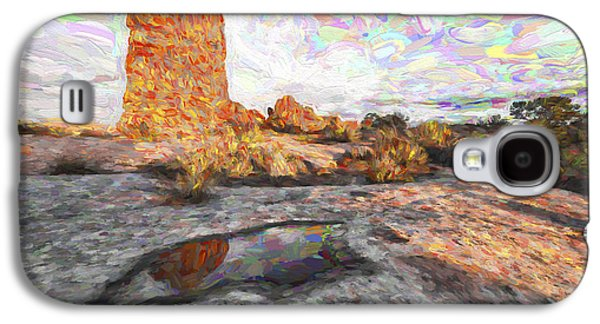 Reflection Of Arches IIi Galaxy S4 Case by Jon Glaser
