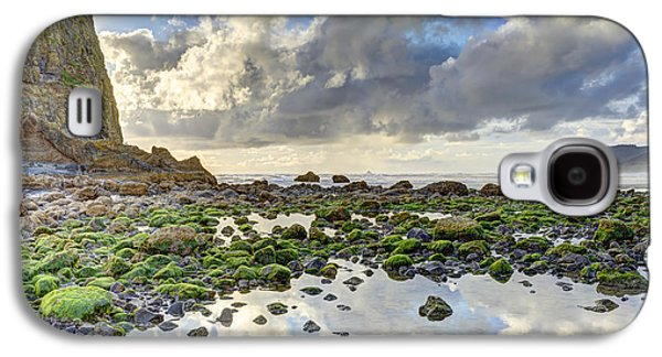 Alga Galaxy S4 Cases - Reflections at Low Tide HDR Galaxy S4 Case by Marv Vandehey