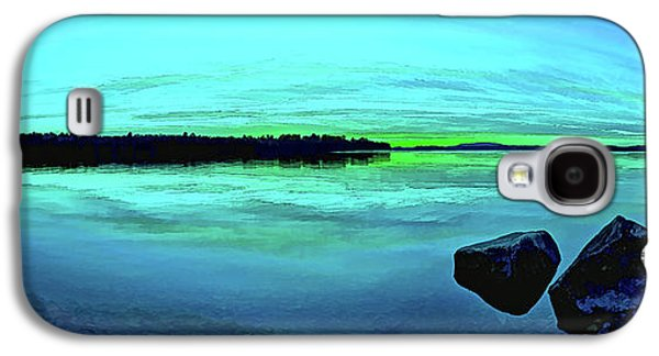 Bill Caldwell Galaxy S4 Cases - Reflections of Serenity Panorama Galaxy S4 Case by Bill Caldwell -        ABeautifulSky Photography