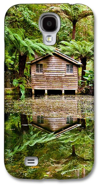 Reflections On The Pond Galaxy S4 Case by Az Jackson