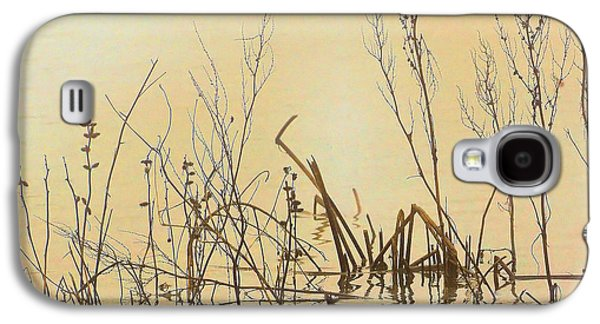 Nature Abstract Galaxy S4 Cases - Reflections on Water Galaxy S4 Case by Josephine Buschman