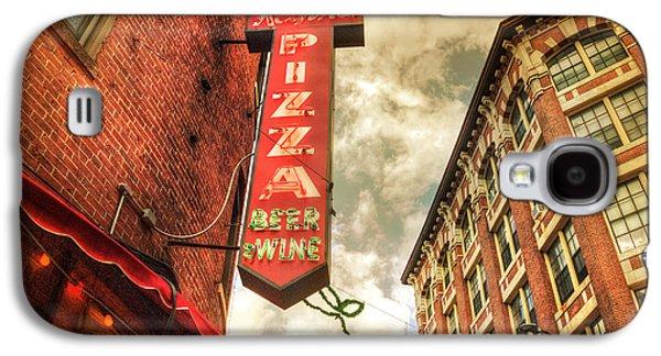 Landmarks Photographs Galaxy S4 Cases - Regina Pizza - Boston North End Galaxy S4 Case by Joann Vitali