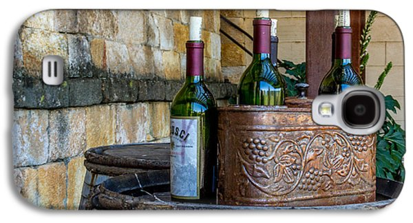 Vino Photographs Galaxy S4 Cases - Regusci Winery Galaxy S4 Case by Bill Gallagher