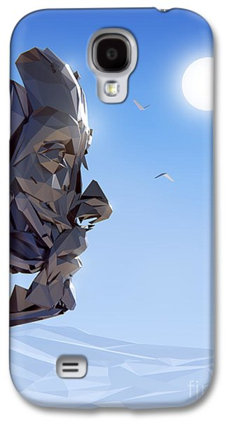 Computer Generated Galaxy S4 Cases - Remember Me Galaxy S4 Case by Pixel Chimp