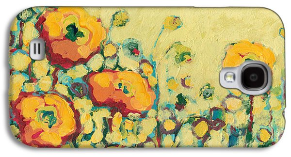 Impressionism Paintings Galaxy S4 Cases - Reminiscing on a Summer Day Galaxy S4 Case by Jennifer Lommers