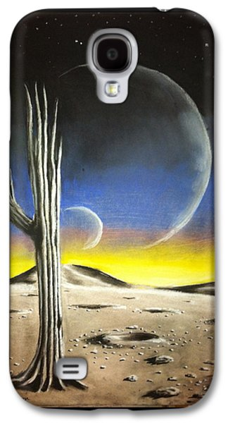 Science Fiction Pastels Galaxy S4 Cases - Remnants Galaxy S4 Case by Benjamin Gassmann