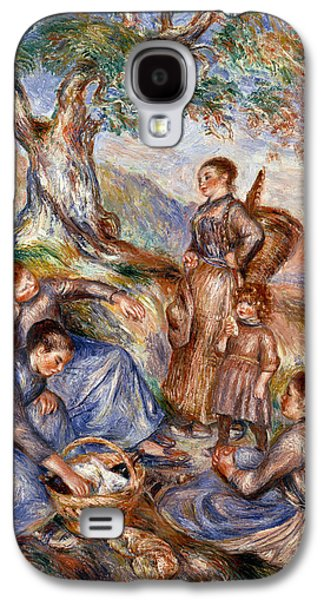 1880s Galaxy S4 Cases - Renoir: Grape Pickers Galaxy S4 Case by Granger