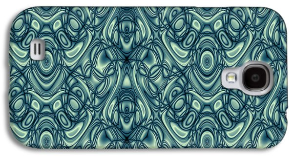 Algorithmic Abstract Galaxy S4 Cases - Repeating Patterns No. 11 Galaxy S4 Case by Mark Eggleston
