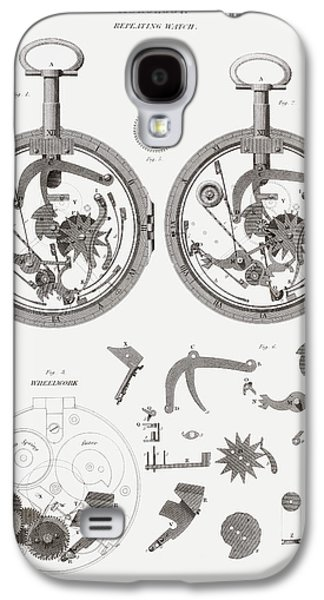 Mechanism Galaxy S4 Cases - Repeating Watch. From The Cyclopaedia Galaxy S4 Case by Ken Welsh