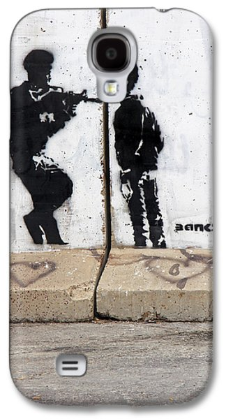 Separation Paintings Galaxy S4 Cases - Resistance Galaxy S4 Case by Munir Alawi