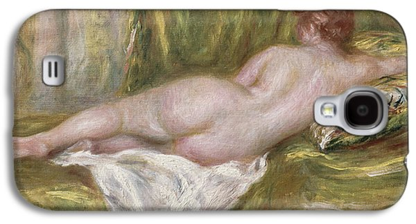 Canvas Galaxy S4 Cases - Rest after the Bath Galaxy S4 Case by Pierre Auguste Renoir