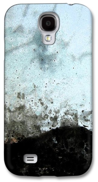 Abstract Digital Art Glass Art Galaxy S4 Cases - Resting Galaxy S4 Case by Uleria Caramel
