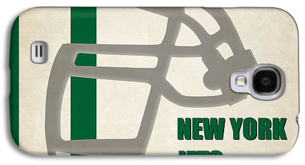 New York Jets Galaxy S4 Cases - Retro Jets Art Galaxy S4 Case by Joe Hamilton