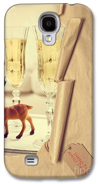 Revealing Christmas Champagne Galaxy S4 Case by Amanda Elwell