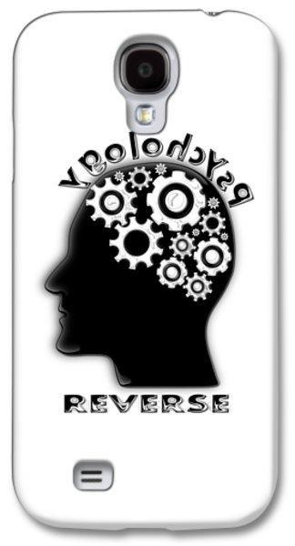 Reverse Psychology Galaxy S4 Case by Anastasiya Malakhova