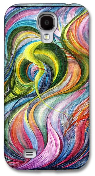 Subconscious Paintings Galaxy S4 Cases - Revival 1.Version                                                            Galaxy S4 Case by Maya Bukhina