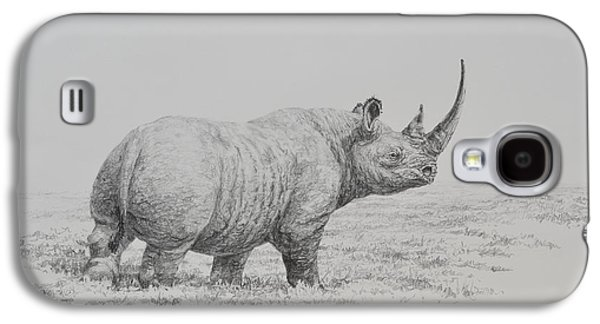 Drawing Galaxy S4 Cases - Rhino Galaxy S4 Case by Jim Young