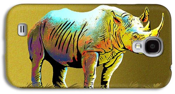Rhinoceros Galaxy S4 Case by Anthony Mwangi