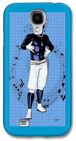Hop Drawings Galaxy S4 Cases - Rhythm King By Quim Abella Galaxy S4 Case by Joaquin Abella