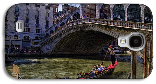 Interface Galaxy S4 Cases - Rialto Bridge in Venice Italy Galaxy S4 Case by David Smith