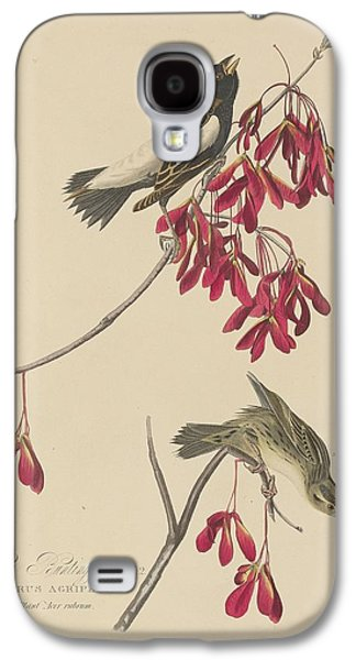 Rice Bunting Galaxy S4 Case by John James Audubon
