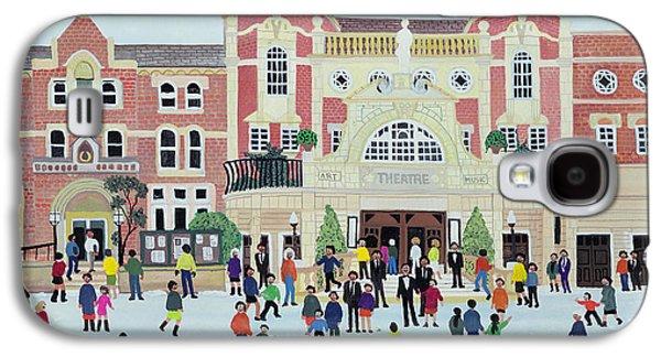 Winter Wonderland Paintings Galaxy S4 Cases - Richmond Theatre   London Galaxy S4 Case by Judy Joel