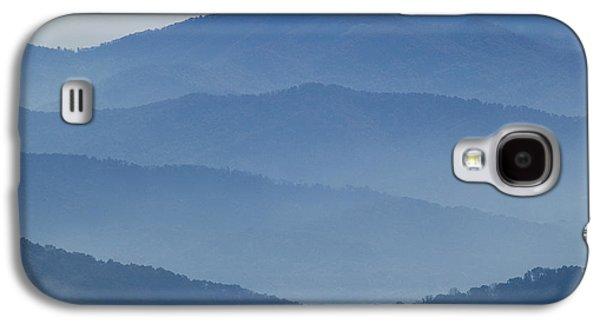 Gatlinburg Galaxy S4 Cases - Ridgelines Great Smoky Mountains Galaxy S4 Case by Rich Franco