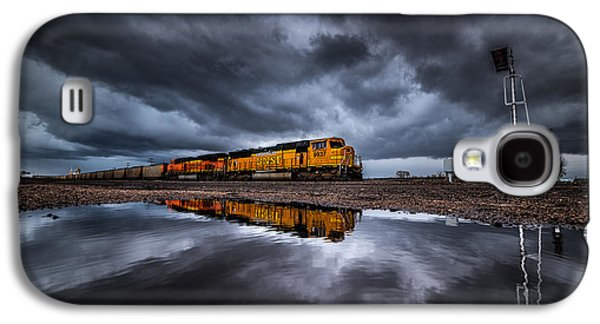 Storm Prints Photographs Galaxy S4 Cases - Riding the Storm Out Galaxy S4 Case by Darren  White