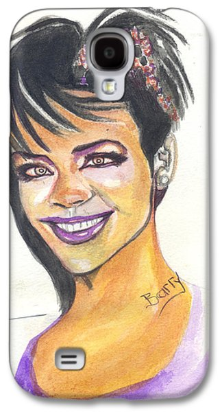 Rihanna Galaxy S4 Case by Emmanuel Baliyanga