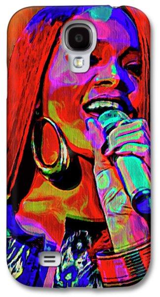 Rihanna Galaxy S4 Cases - Rihanna  Galaxy S4 Case by  Fli Art