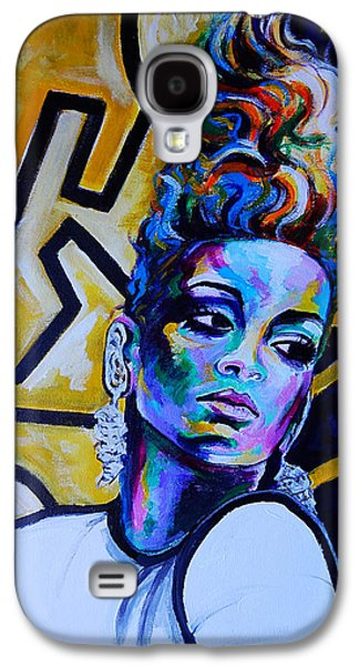 Rihanna Rude  Galaxy S4 Case by Javier J Sanchez Primo Todd