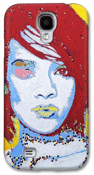 Rihanna  Galaxy S4 Case by Stormm Bradshaw