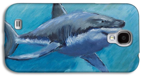 Rin The Shark-children's Collection Galaxy S4 Case by Laurel McFarland