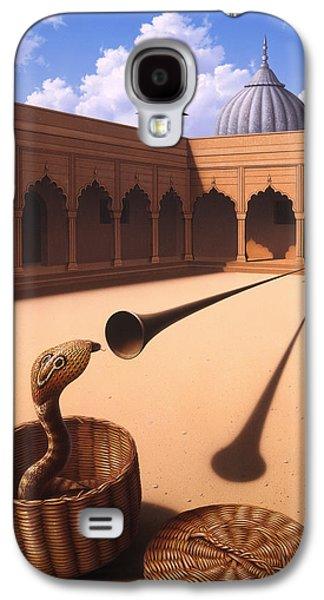 Risk Management Galaxy S4 Case by Jerry LoFaro