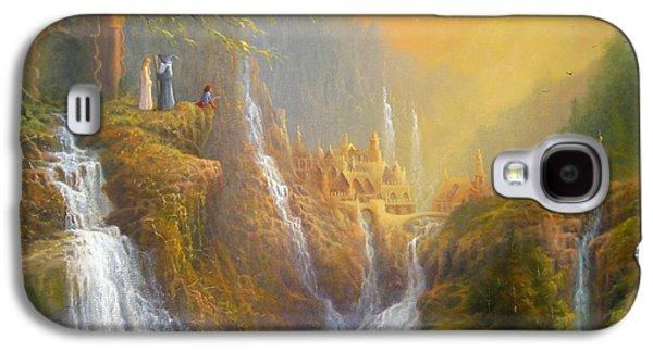Rivendell Wisdom Of The Elves. Galaxy S4 Case by Joe  Gilronan