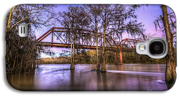 Country Dirt Roads Galaxy S4 Cases - River Bridge Galaxy S4 Case by Marvin Spates