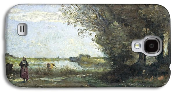 River View Galaxy S4 Case by Jean-Baptiste-Camille Corot