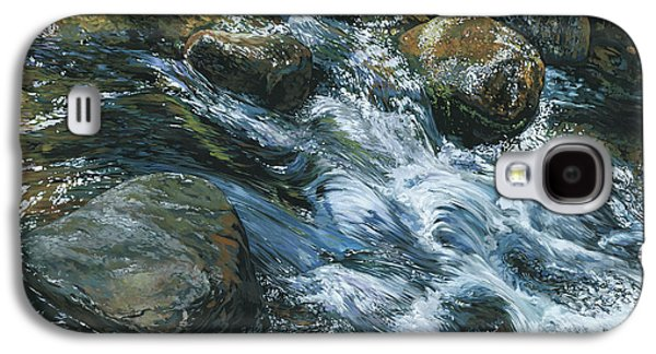 River Water Galaxy S4 Case by Nadi Spencer