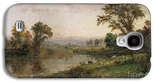 Riverscape In Early Autumn Galaxy S4 Case by Jasper Francis Cropsey