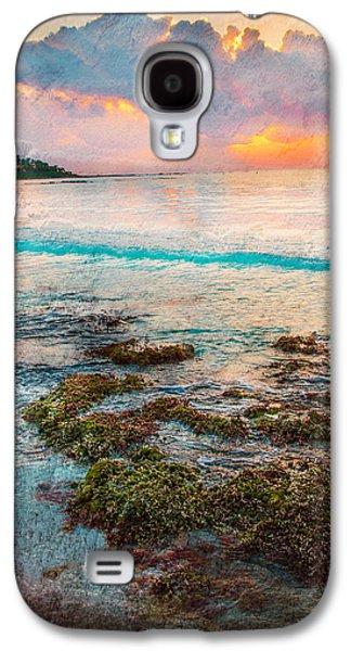 Alga Galaxy S4 Cases - Riviera Maya Galaxy S4 Case by Sonia Conforti