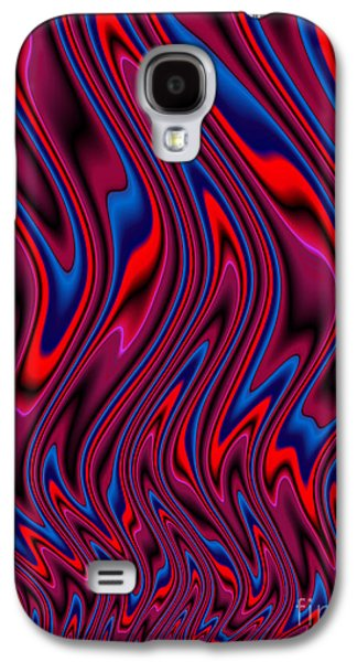Flame Galaxy S4 Cases - RnB Flames Galaxy S4 Case by John Edwards