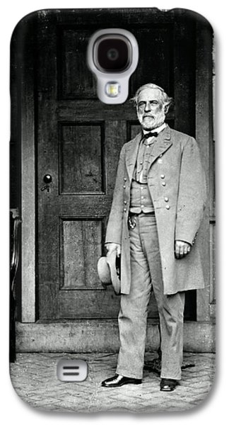 Personalities Photographs Galaxy S4 Cases - Robert E. Lee In Richmond, Virginia Galaxy S4 Case by Photo Researchers