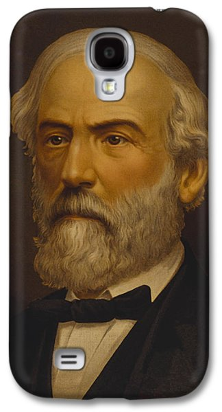 Warishellstore Paintings Galaxy S4 Cases - Robert E Lee Galaxy S4 Case by War Is Hell Store
