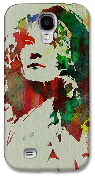 Robert Plant Galaxy S4 Case by Naxart Studio